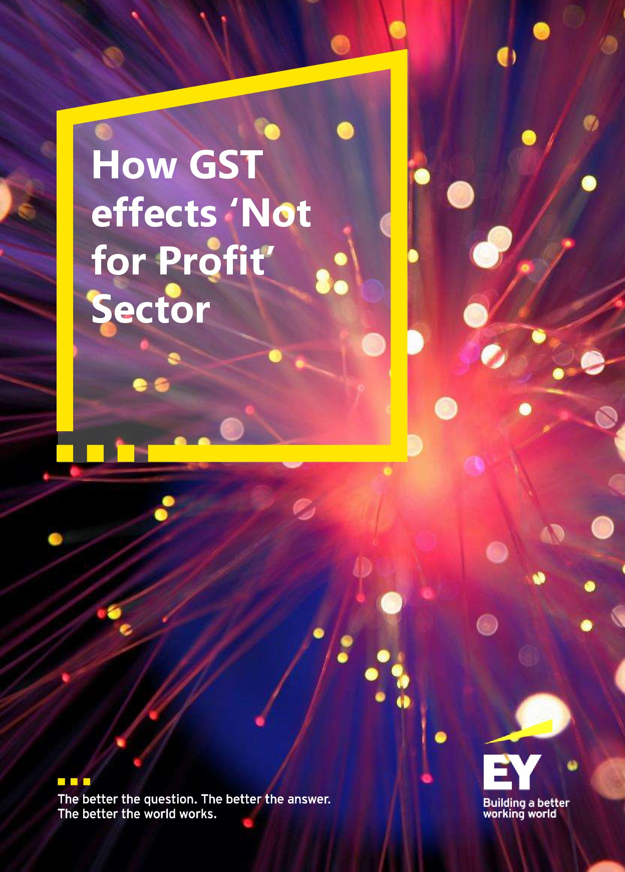 How GST effects 'Not for Profit' Sector