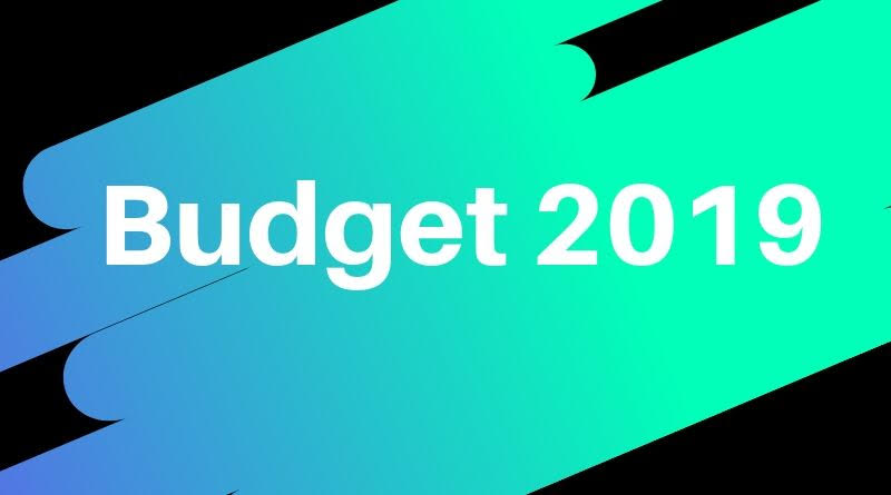 Comments on Union Budget 2019