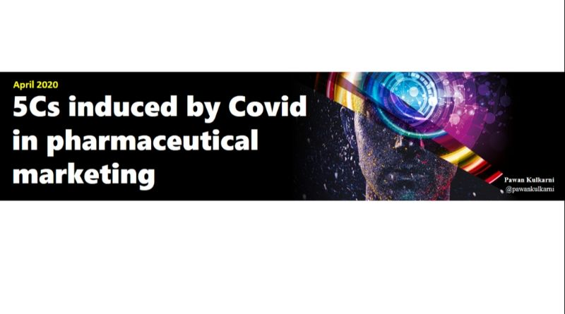5Cs induced by Covid in pharmaceutical marketing